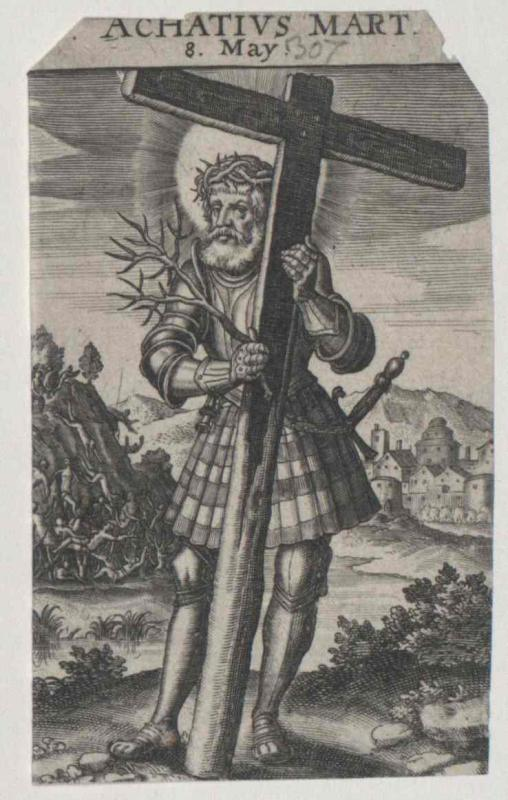 Achatius, Heiliger