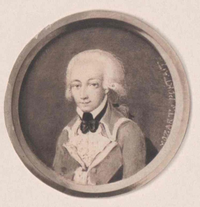 Miniatur auf Elfenbein um 1773, vermutlich von Franz Martin Knoller©Bildarchiv Austria, ÖNB