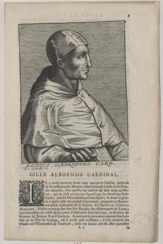 Albornoz, Gil Carillo