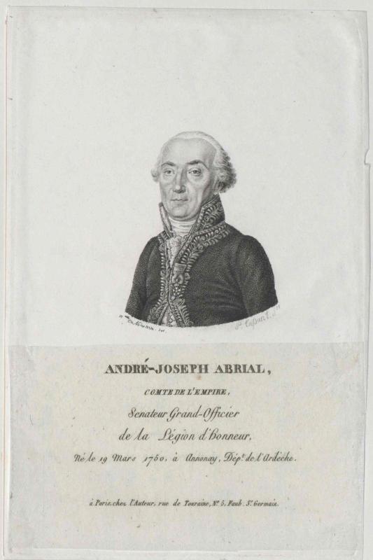 Abrial, André Joseph Comte