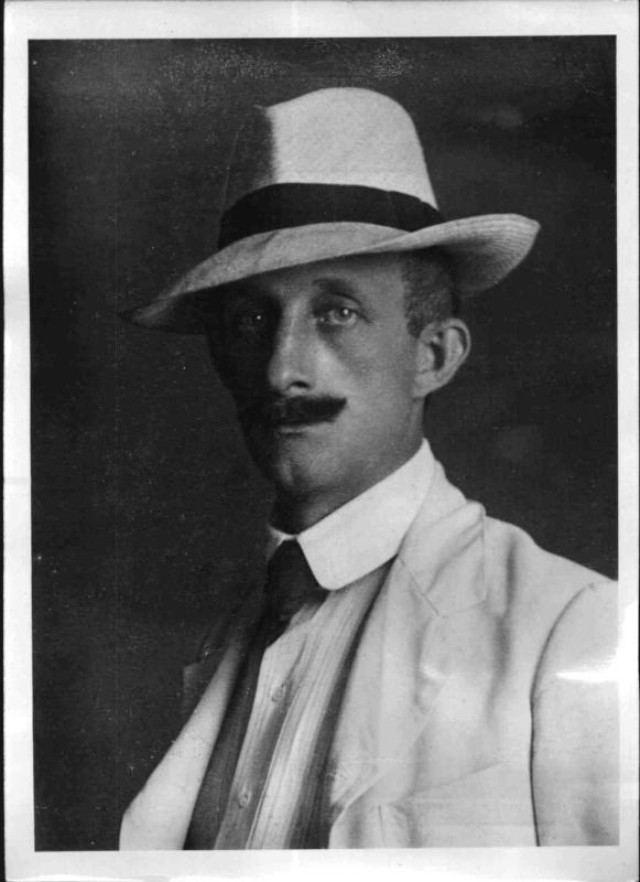 Der Schriftsteller Hermann Löns