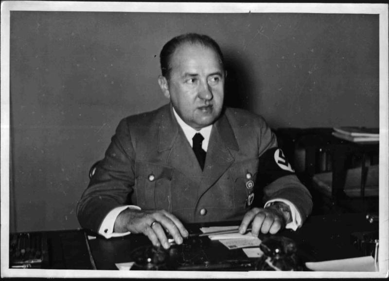 NS-Wirtschaftsminister Walther Funk