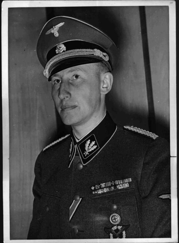 SS-Obergruppenführer Reinhard Heydrich