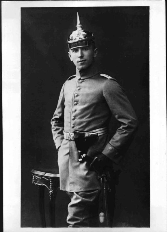 Der deutsche Jagdflieger Max Immelmann