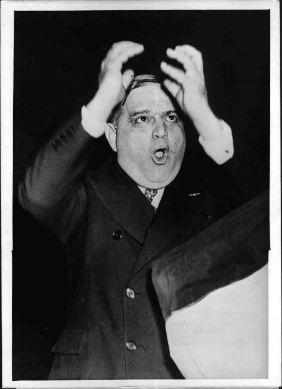 Der New Yorker Bürgermeister Fiorello Henry LaGuardia