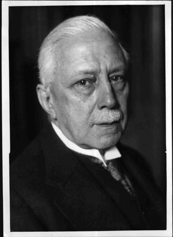 Der Komponist Emil Nikolaus von Reznicek