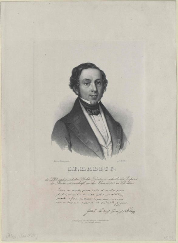 Abegg, Julius Friedrich Heinrich