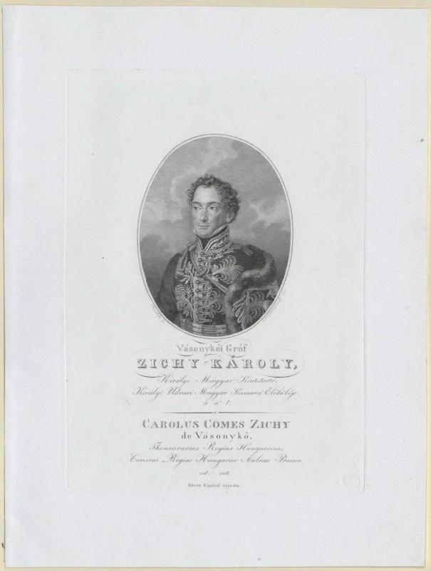 Zichy-Zich-Vásonykeö, Karl Graf