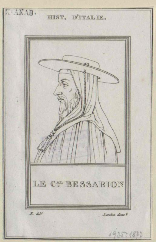 Bessarion, Johannes