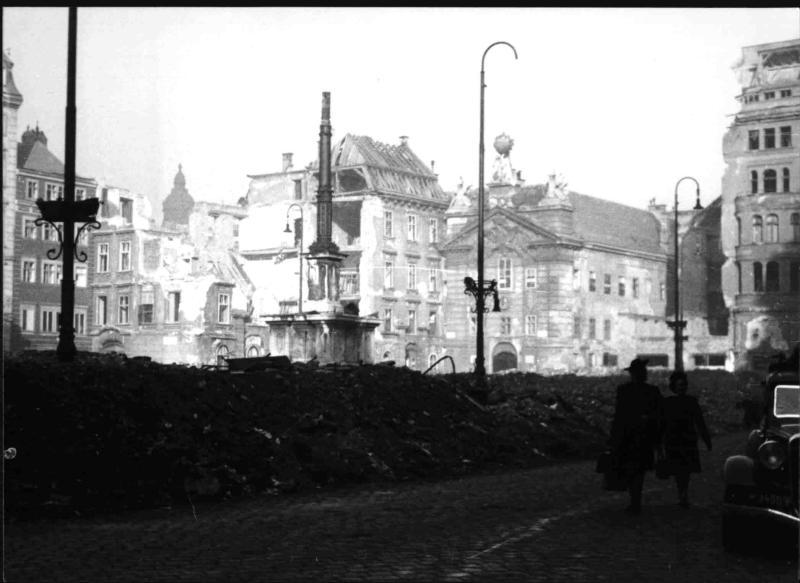 Zerstörungen in Wien