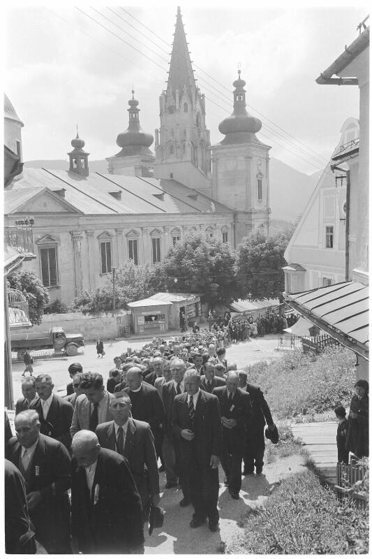 Wallfahrt in Mariazell