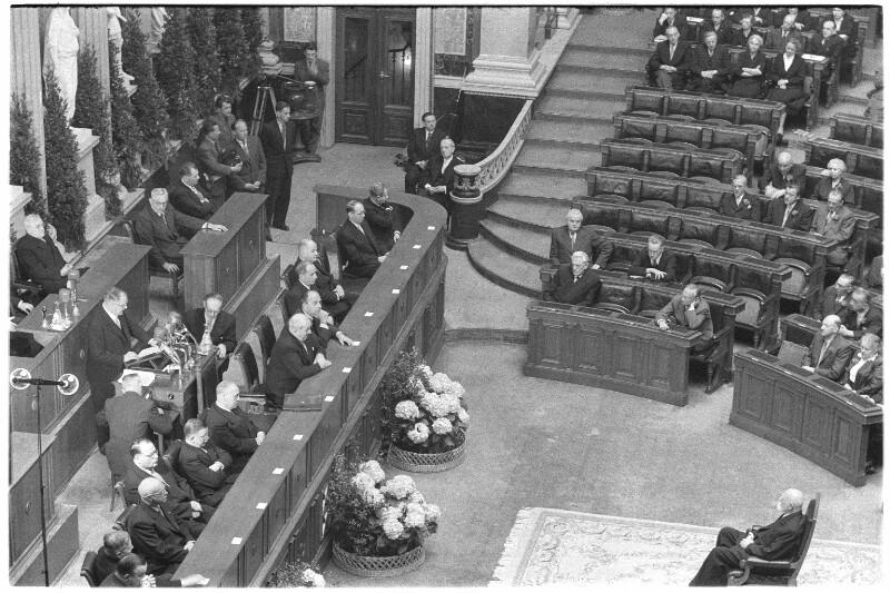 Festsitzung von National- und Bundesrat