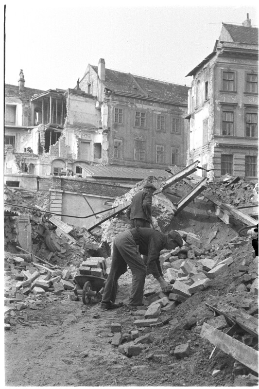 Kriegszerstörungen in Wien