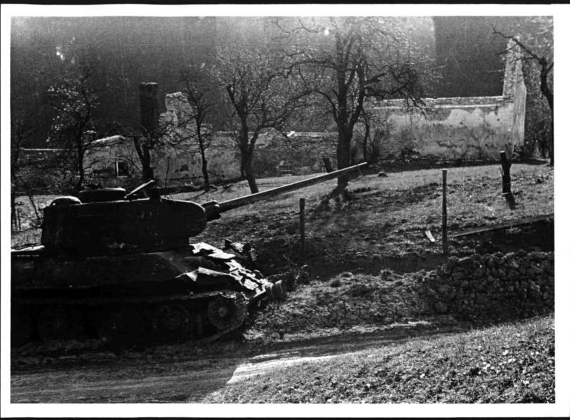 Panzer am Schwarzsee gegen Mayerling