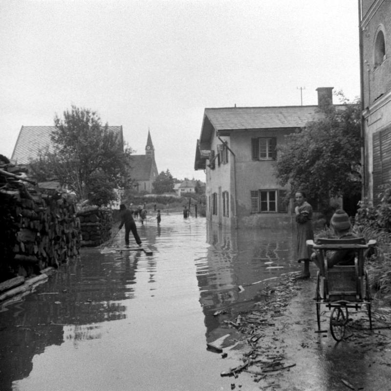 Hochwasserkatastrophe in Salzburg