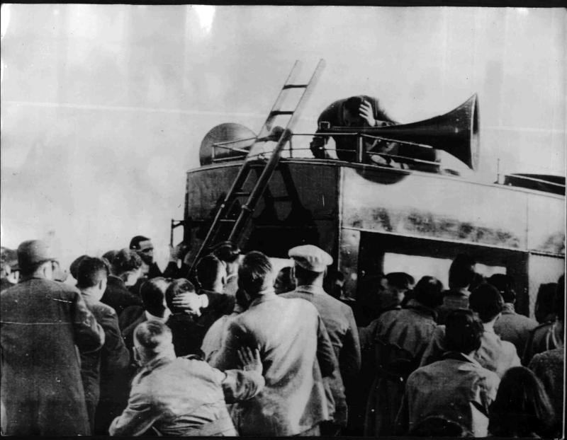 Attentat auf den Faschistenführer Mosley