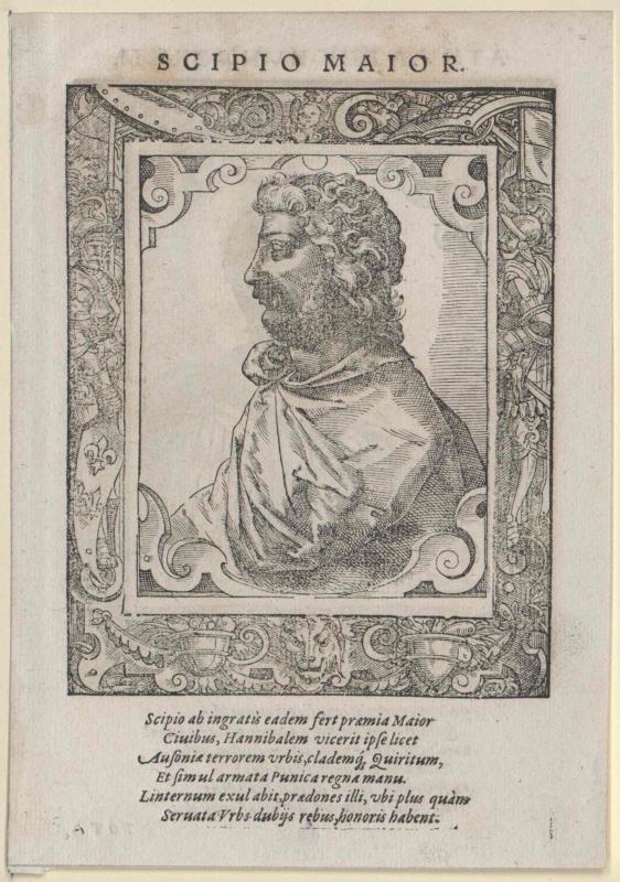Scipio Africanus, Publius Cornelius
