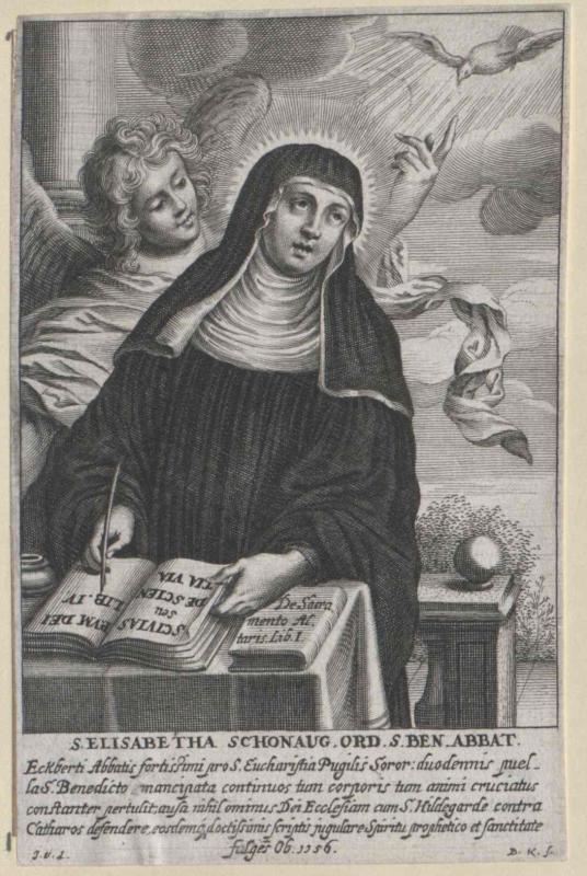Elisabeth von Schönau, Heilige
