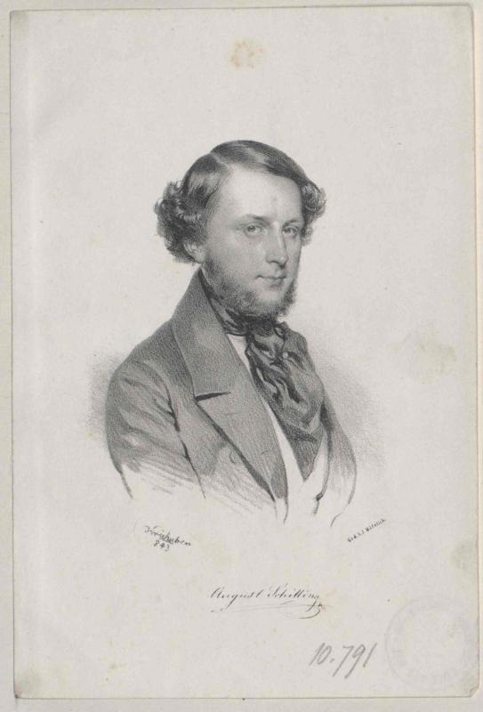 Schilling-Henrichau, August Ritter