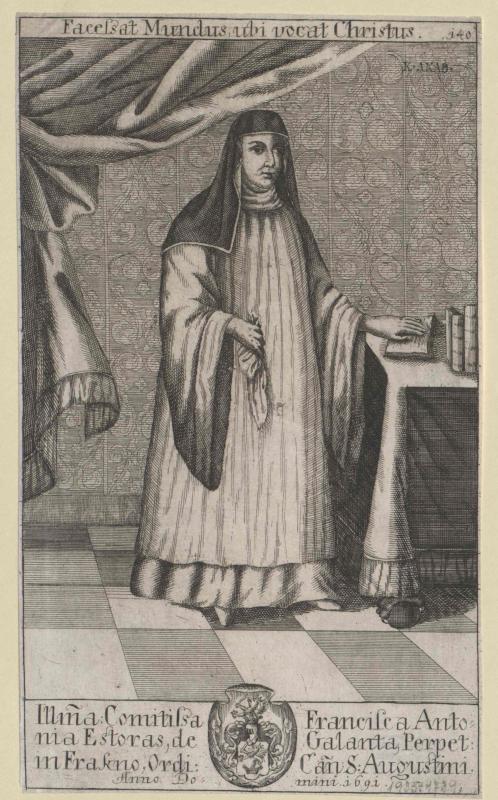 Esterházy-Galantha, Franziska Antonia Gräfin