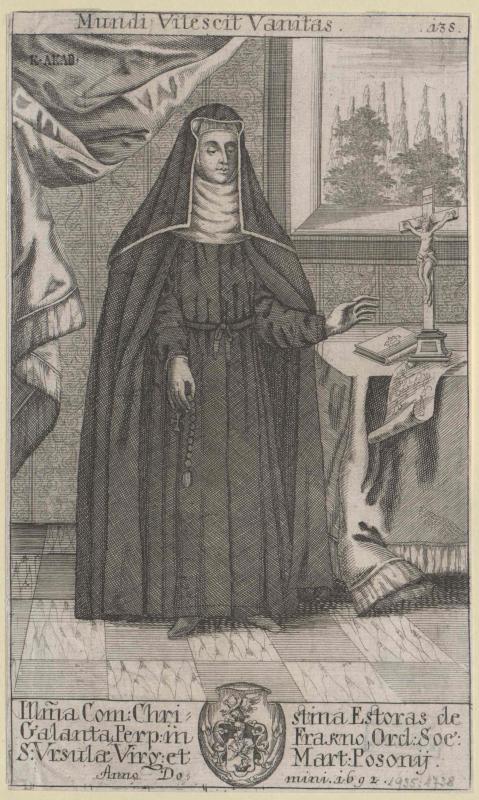 Esterházy-Galantha, Christina Gräfin