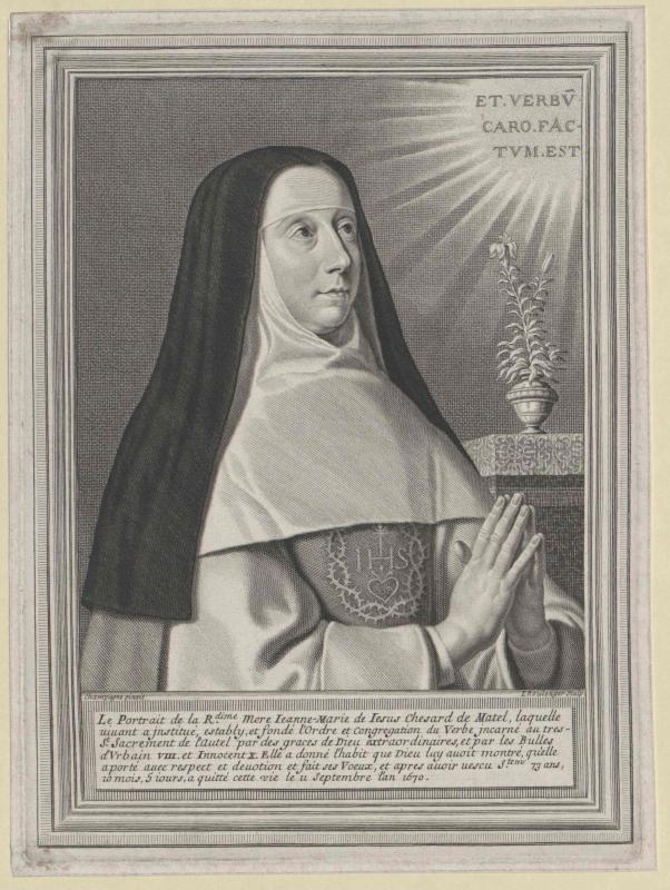 Chesard de Matel, Jeanne Marie