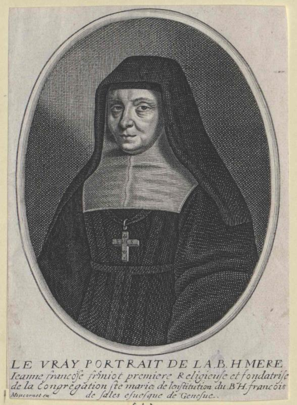 Chantal, Johanna Franziska von