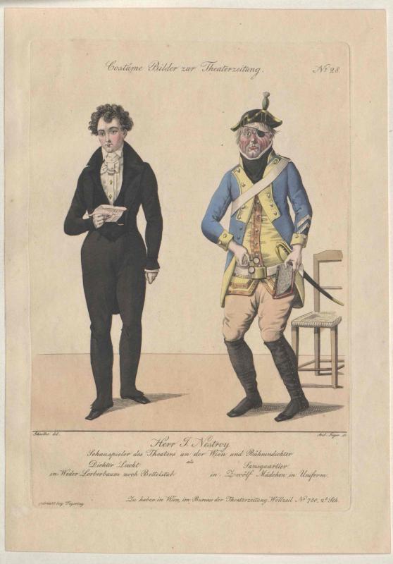 Nestroy, Johann