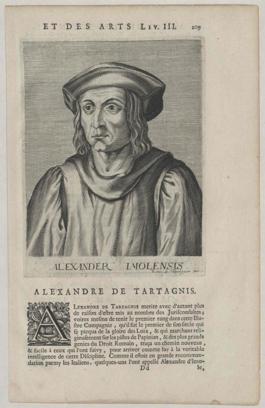 Tartagni, Alessandro