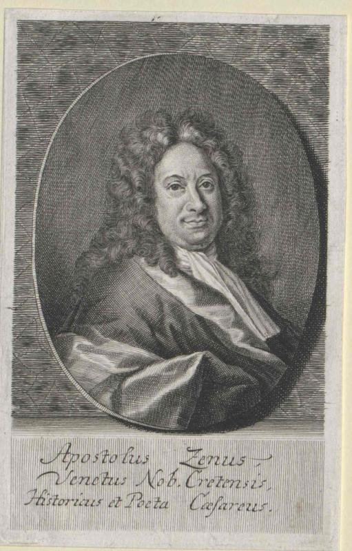 Zeno, Apostolo