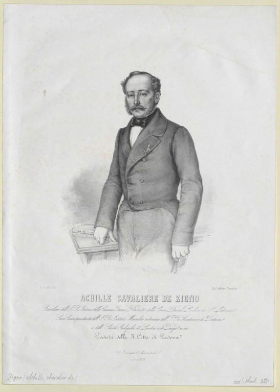 Zigno, Achille Freiherr