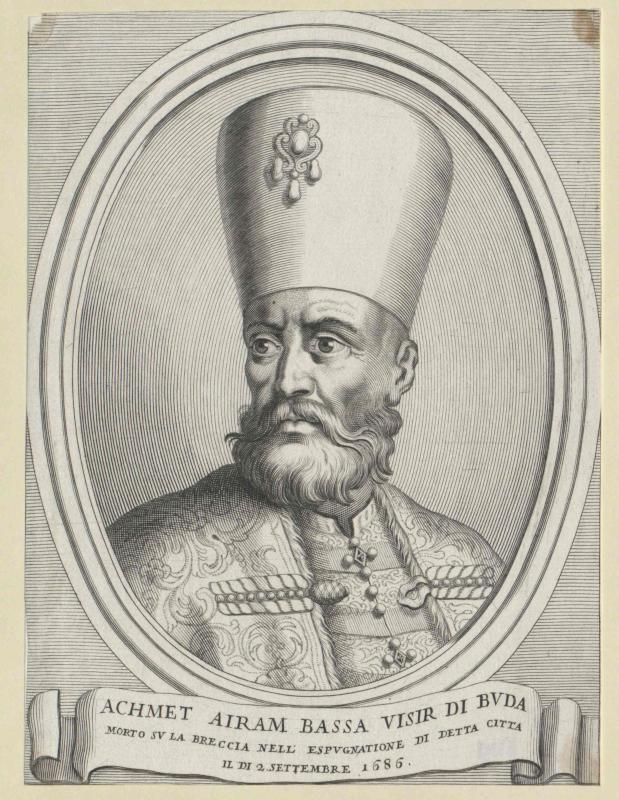 Achmet Airam, Pascha