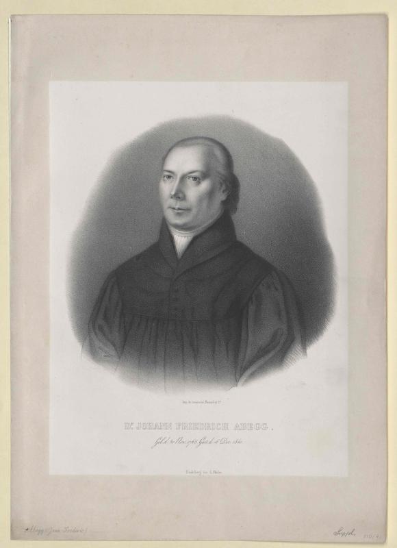 Abegg, Johann Friedrich