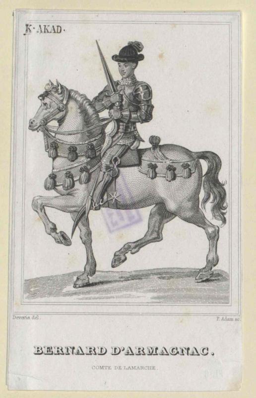 Armagnac, Bernard d'