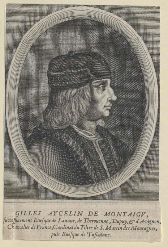 Aycelin de Montaigu, Gilles
