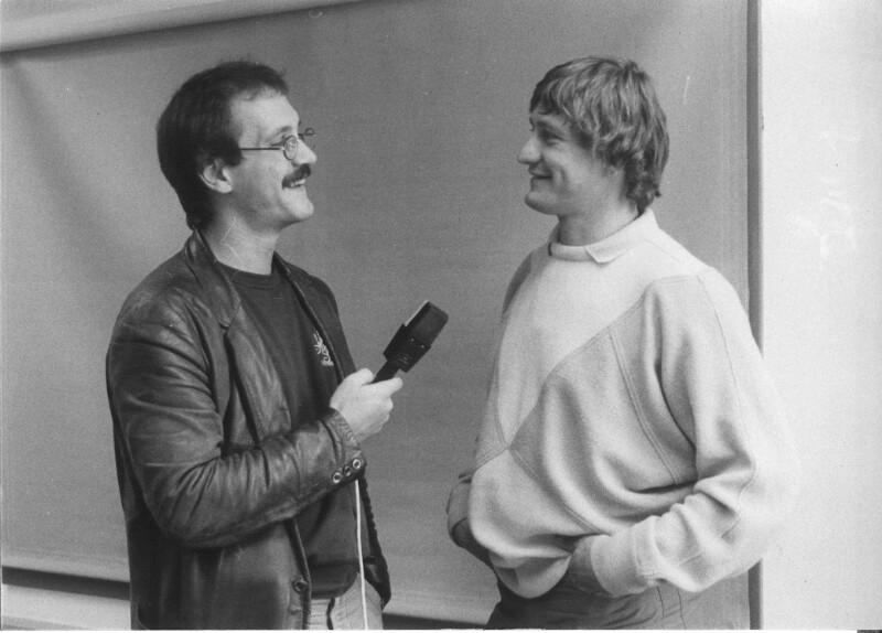 Robert Reumann interviewt Franz Klammer