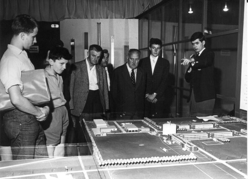 Modellanlage des Atomreaktors Zwentendorf
