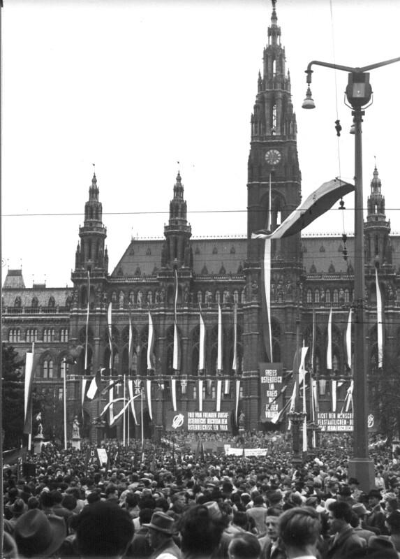 Maifeier der Wiener Sozialdemokraten