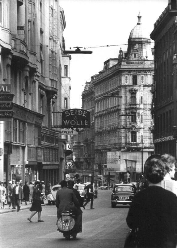 Wiener Straßenszene