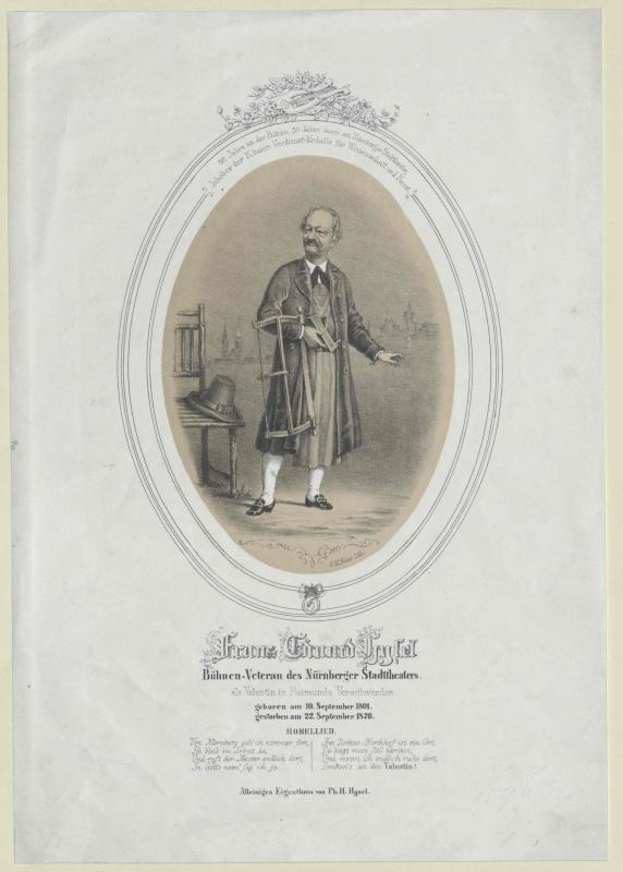 Franz Eduard Hysel©Bildarchiv Austria, ÖNB
