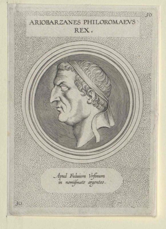 Ariobarzanes I. Philoromaeus, König von Kappadokien