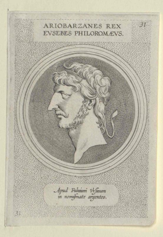 Ariobarzanes III. Eusebes Philoromaeus, König von Kappadokien