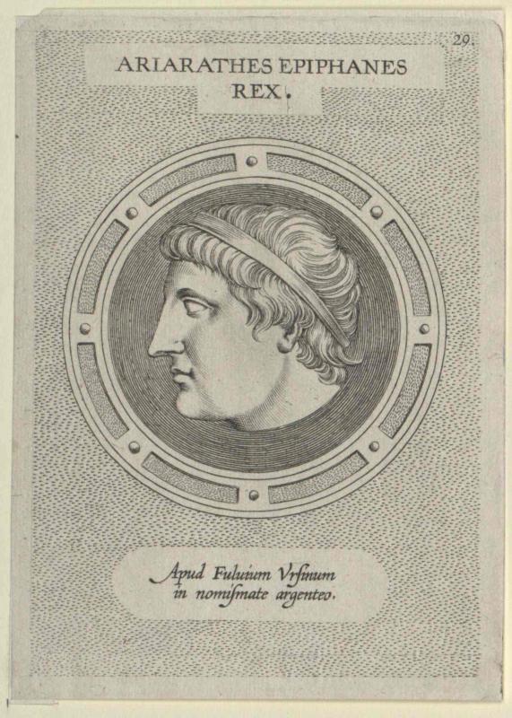 Ariarathes Epiphanes, König von Kappadokien