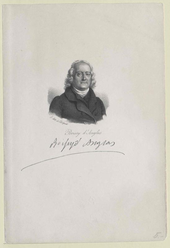 Boissy d'Anglas Y. lith. de Delpech