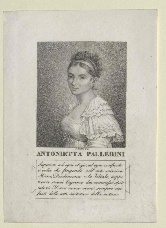 Pallerini, Antonietta