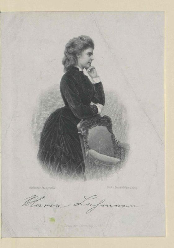 Marie Lehmann©Bildarchiv Austria, ÖNB