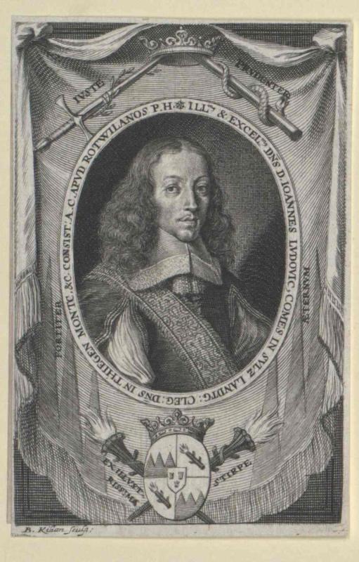 Sulz, Johann Ludwig Landgraf von Klegau Graf