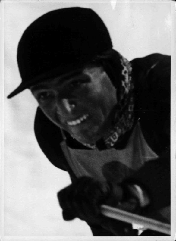 Skirennläufer Josl Gstrein