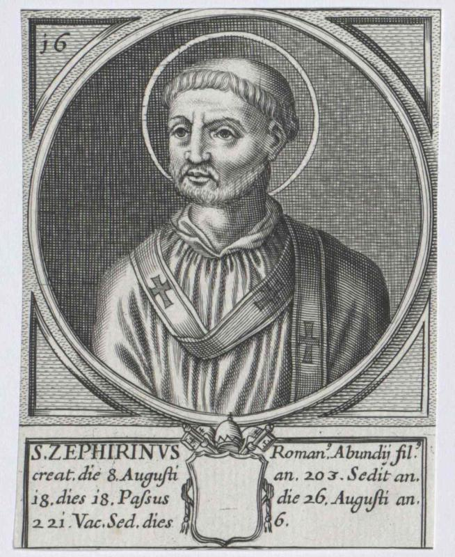 Zephyrinus, papa