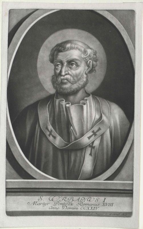 Urban I., papa Heiliger